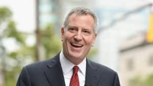 THE BAD APPLE: De Blasio Hints Bezos 'Family' Problems Behind Amazon's Decision to Abandon NYC