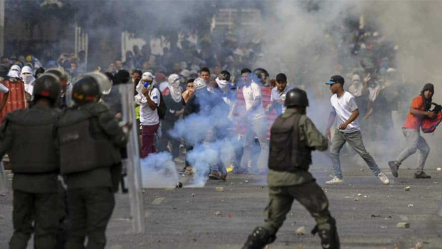 Partner Content - TOTAL CHAOS: Venezuela's Maduro SEVERS All Ties with USA as Residents Protest