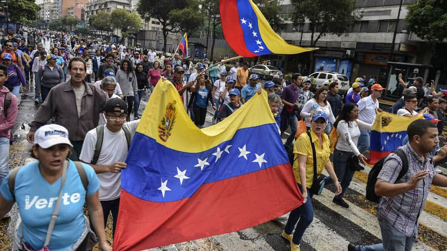 Partner Content - VENEZUELA UPRISING: Maduro 'On the Brink' as Demonstrators Take to the Streets
