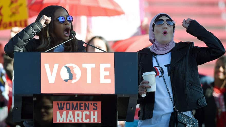 Partner Content - ABOUT TIME: DNC Severs Ties with Women's March Over Accusations of Anti-Semitism, Homophobia