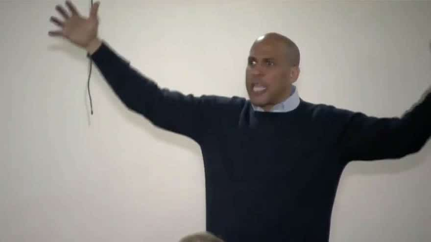 Partner Content - LIBERAL MATH: Cory Booker Says $7 TRILLION 'New Deal' Will 'Save Taxpayers Money'
