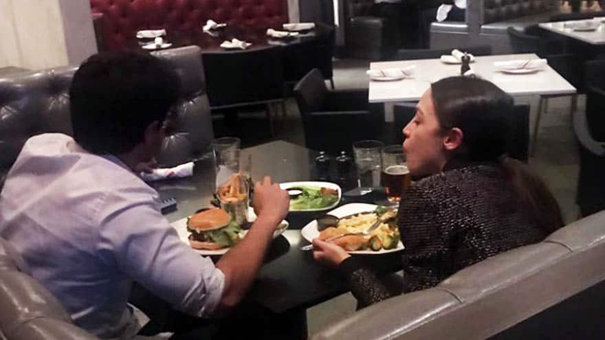 Image result for image, photo, picture, cortez, eating burger