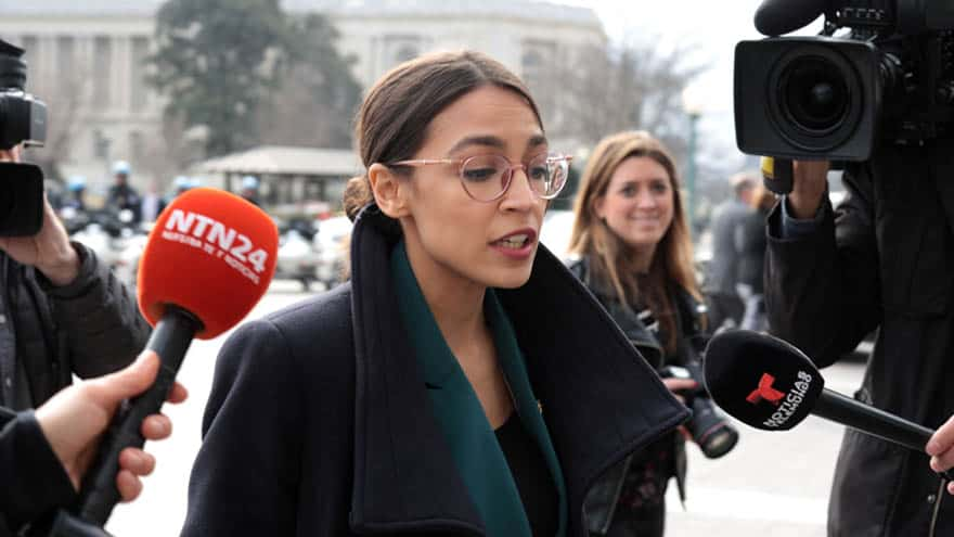 Partner Content - DEMS IN DENIAL: Ocasio-Cortez Says 'Racist' Trump Can Either Be 'Impeached or Voted Out in 2020'