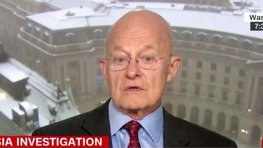 Partner Content - GRAVE EXPECTATIONS: James Clapper Warns CNN the Mueller Report May Be 'Anti-Climactic'