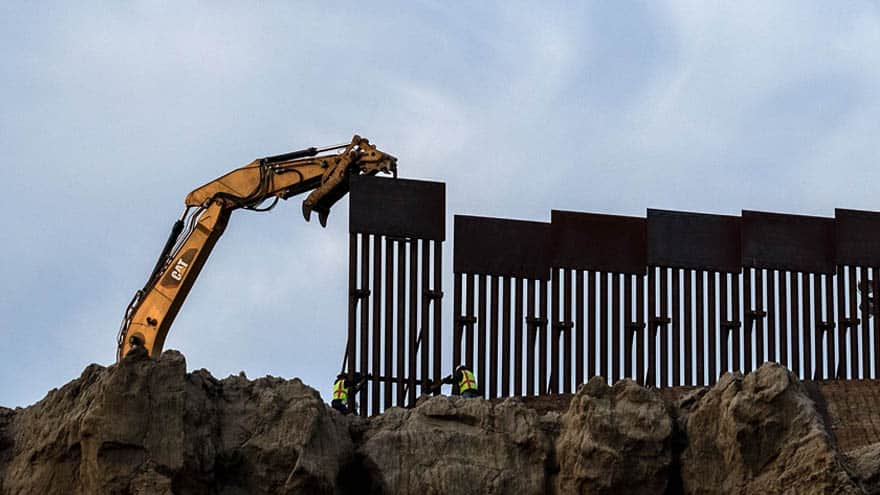 Partner Content - THE WALL: Construction Begins in California on 14 Miles of '30-Foot-High' Border Wall