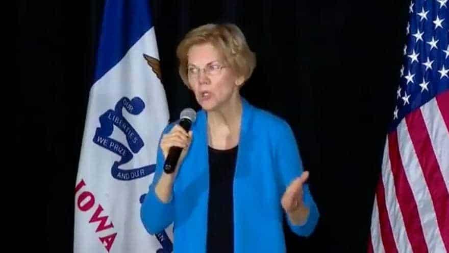 Partner Content - WARREN'S WARNING: Sen. Warren Suggests Invoking 25th Amendment to Remove Trump