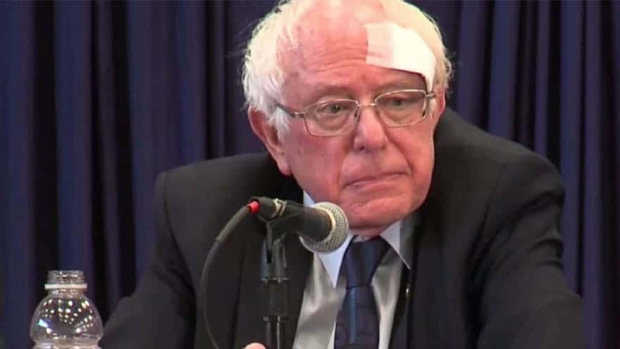 Partner Content - DEVELOPING: Bernie Sanders Injured in Shower Accident, Receives At Least 7 Stitches