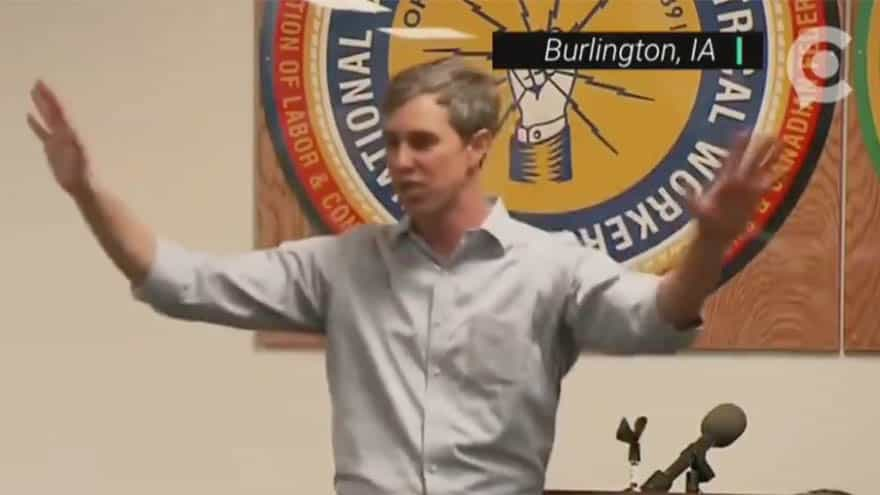 Partner Content - CLIMATE D-DAY? Beto Compares Global Warming Fight with Those 'On the Beaches in Normandy'
