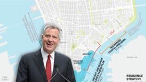DE BLASIO'S NYC: Mayor Calls for Construction of $  10 BILLION Global Warming 'Barriers' in Lower Manhattan