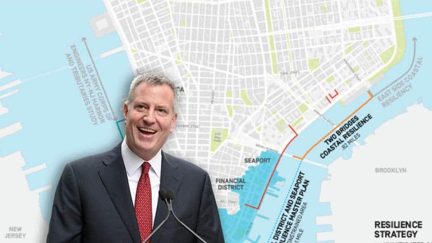 DE BLASIO'S NYC: Mayor Calls for Construction of $10 BILLION Global Warming 'Barriers' in Lower Manhattan | Sean Hannity