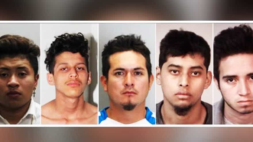 Partner Content - REPORT: Five MS-13 Members Arrested for 'Stabbing Teen 100 Times,' Setting Body on Fire