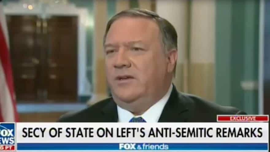 Partner Content - POMPEO: Democrats' Anti-Israeli Rhetoric 'Undermines Religious Freedom' for 'Every Human Being'