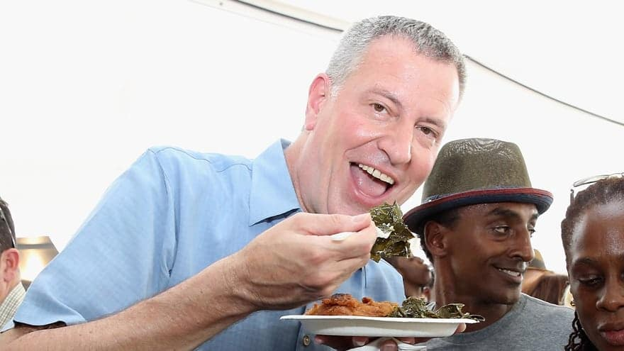 Partner Content - GREEN NEW MEAL! De Blasio Vows to 'Reduce Red Meat' by 50% in All City-Owned Facilities