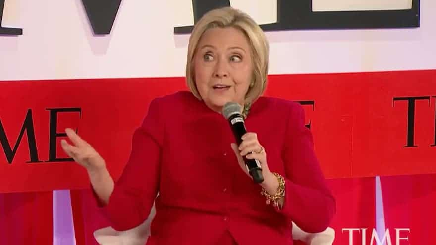 Partner Content - IRONY ALERT: Hillary Clinton Says Trump 'Certainly' Should Have Been 'Indicted'