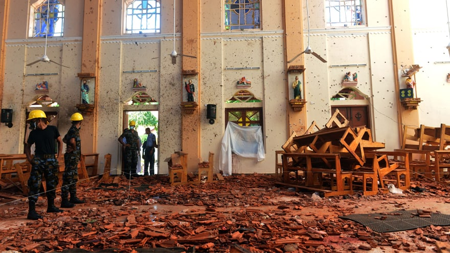 Partner Content - REPORT: Sri Lanka Officials Warned 'Weeks' in Advance of Terror Plot Against Churches