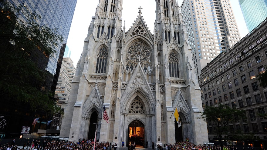 Partner Content - DEVELOPING: Suspect with 'Gas Cans' Arrested Trying to Enter NYC's St. Patrick's Cathedral